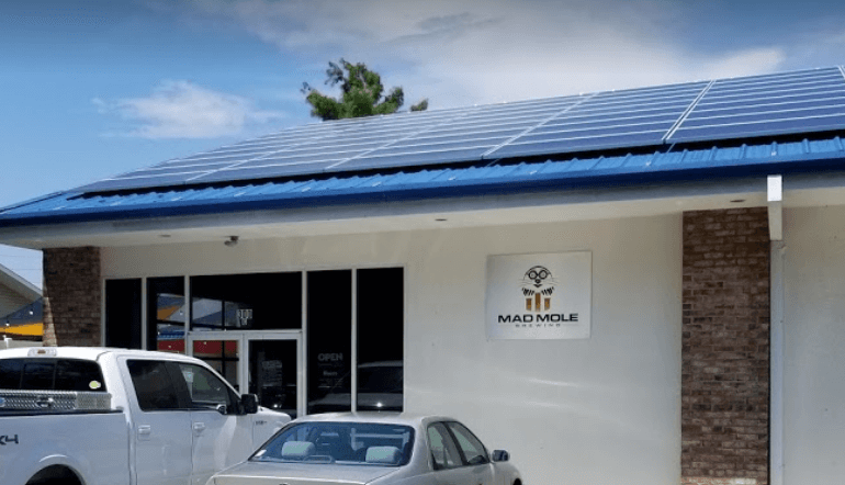 Mad Mole Brewing uses the sun to brew beer